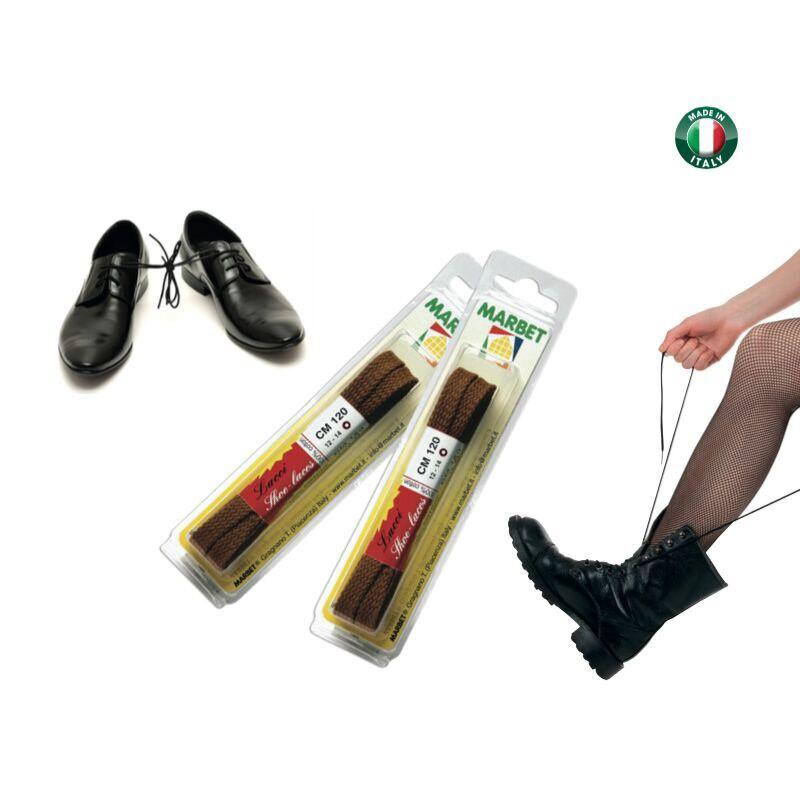 Lacci per le scarpe in cotone cm.150, Marbet